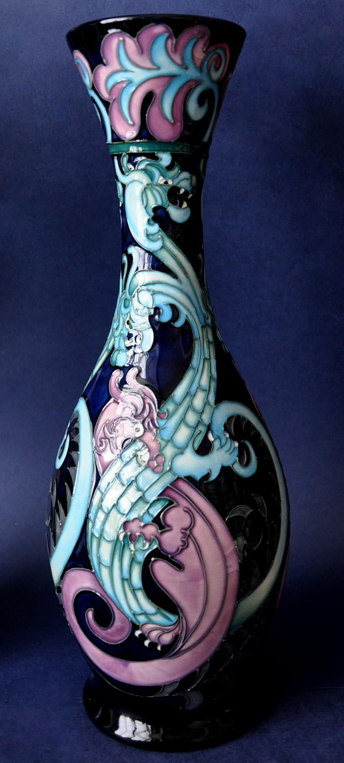 Moorcroft Pottery Amphisbaena 372/11 Rachel Bishop  Limited Edition of 100