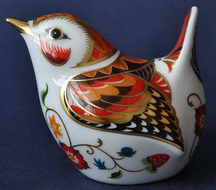 Royal Crown Derby Shakespeare Wren