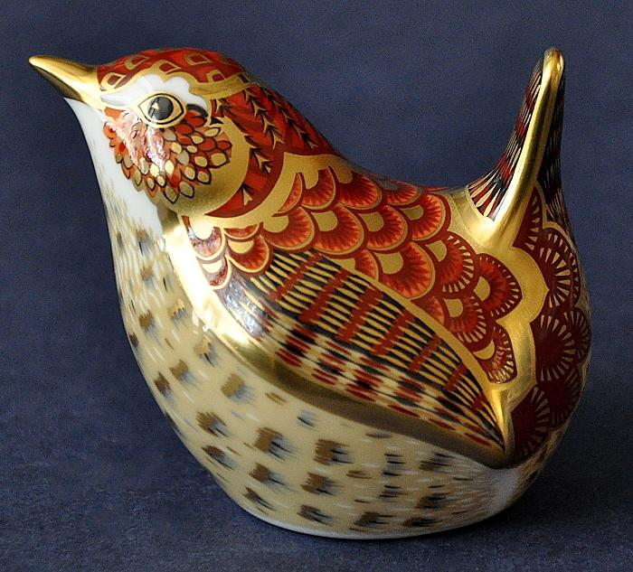 Royal Crown Derby Jenny Wren