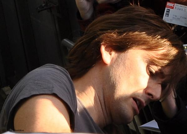 Richard II David Tennant outside theatre RSC