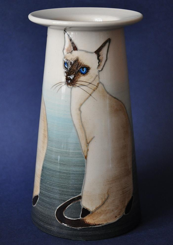 Dennis Chinaworks Siamese Cat 7