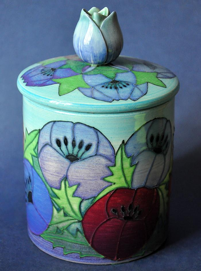 Dennis Chinaworks Anemone M Box Sally Tuffin