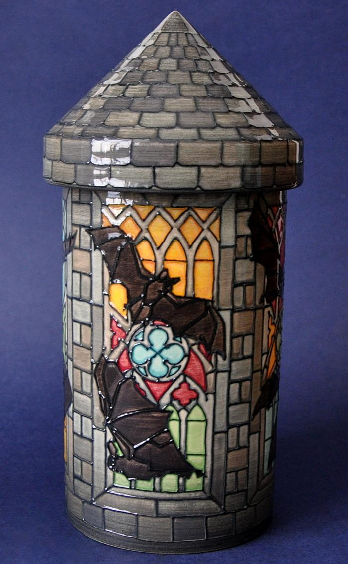 Bat Tower By Dennis Chinaworks Limited Edition of 10