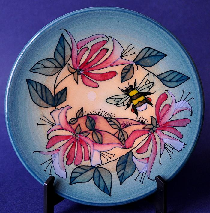 Dennis Chinaworks Humble Bee Roundel Sally Tuffin Exclusive To B&W Thornton  Numbered Edition