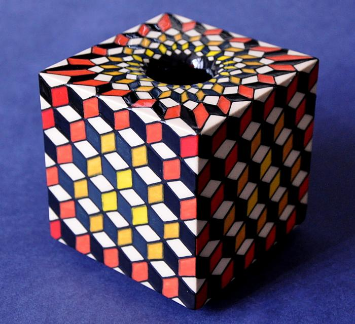Dennis Chinaworks Miniature Cube Sally Tuffin  Number 1 of 10