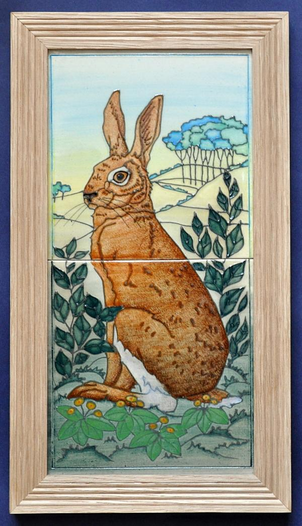 Dennis Chinaworks Ostara Tile Panel