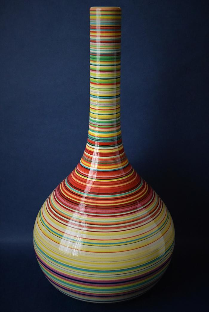 Dennis Chinaworks Orb Tall Bottle Sally Tuffin An Edition of 20