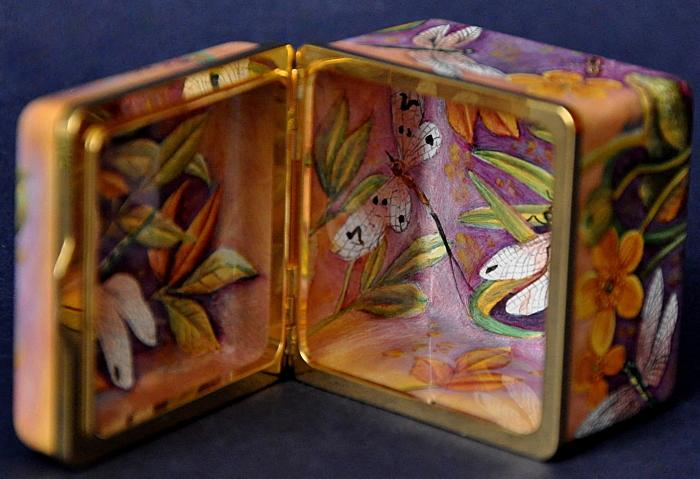 Elliot Hall Enamels Dragonflies AS1 DF Box