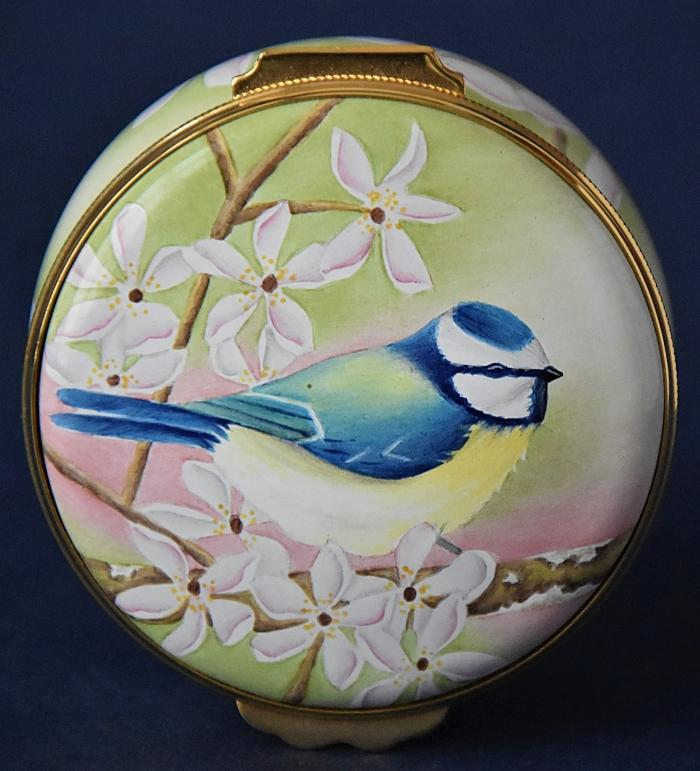 Elliot Hall Enamels Blue Tits PLS-BT