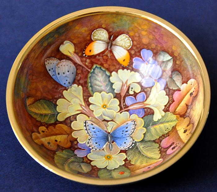 Elliot Hall Enamels Butterfly Oasis AB1-B