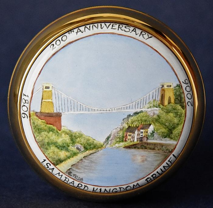 Elliot Hall Enamels Clifton Suspension Bridge PW-CSB