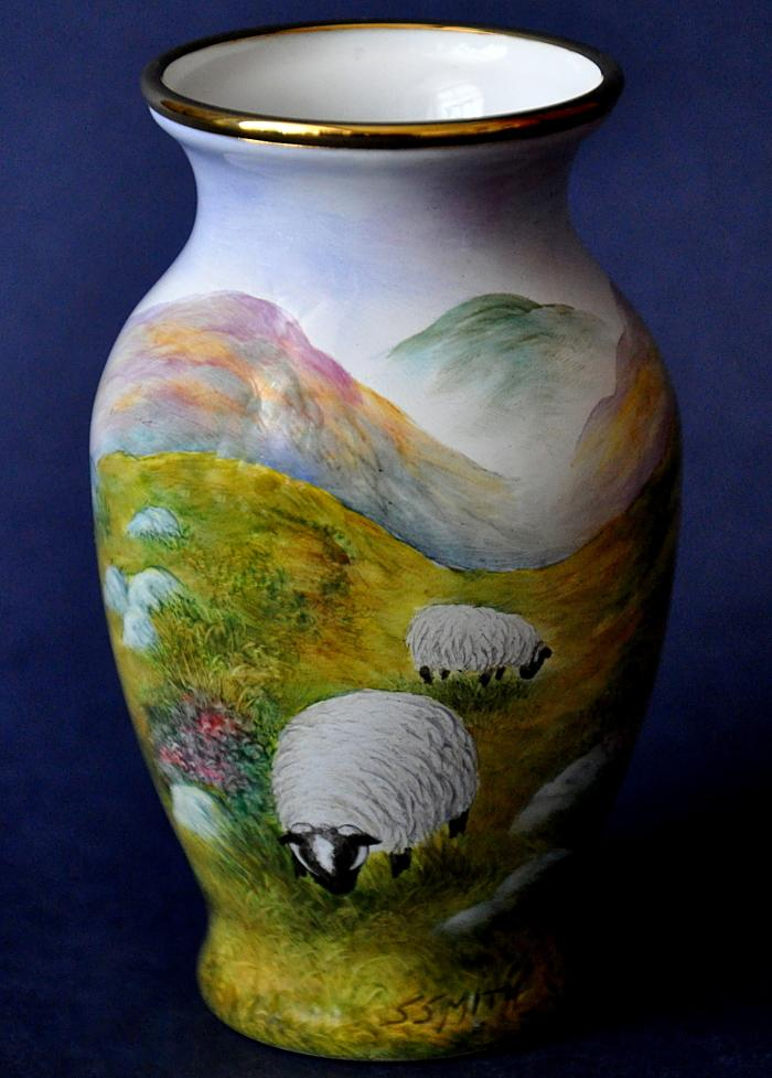 Elliot Hall Enamels Highland Sheep HT HS Steven Smith