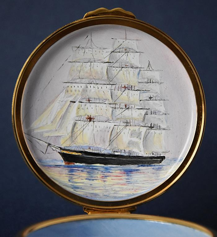 Elliot Hall Enamels Cutty Sark and Thermopylae PEX-CST