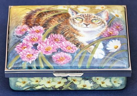 Elliot Hall Enamels Illyria Cat Box