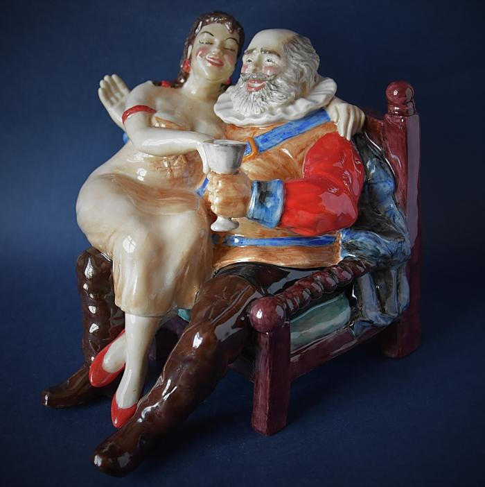 Falstaff and Doll A Limited Edition of 100 Welle Design