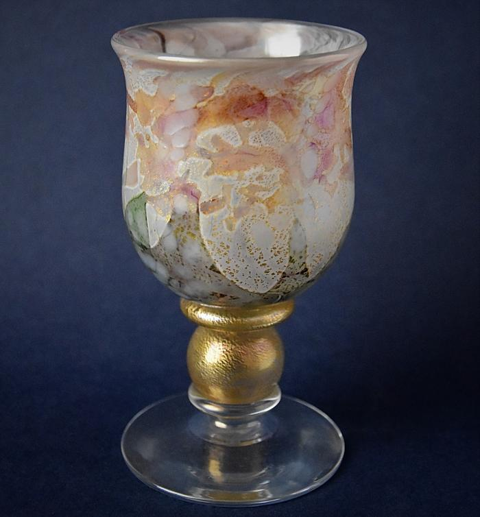 Isle of Wight Studio Glass Goblet