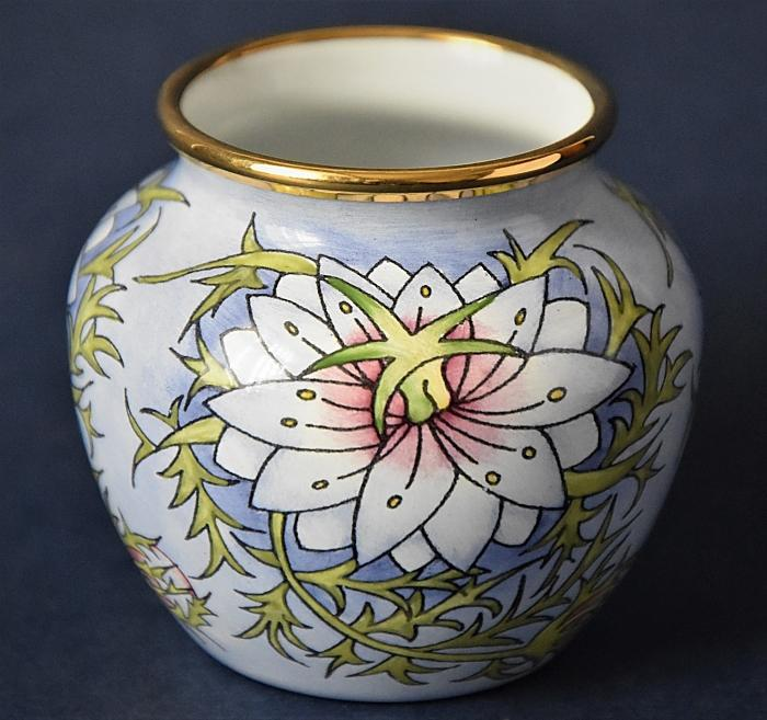 Moorcroft Enamels Love-in-a-Mist 55LM