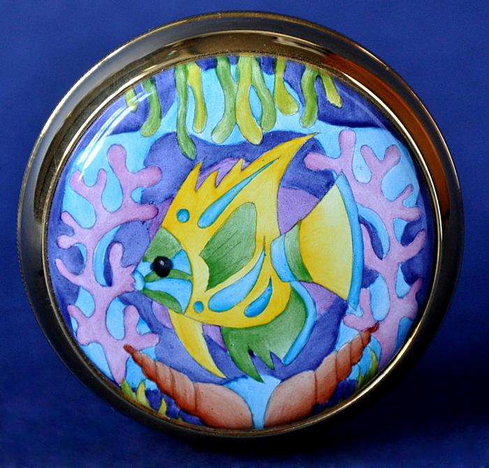 Moorcroft Enamels Martinique Paperweight PW/M