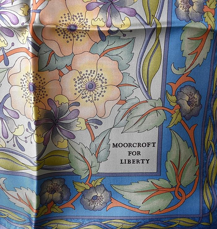 Moorcroft For Liberty Scarf