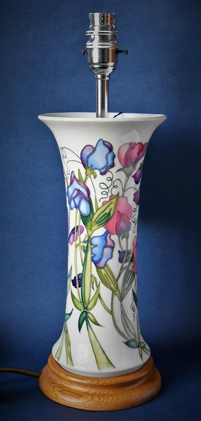Moorcroft Pottery Lamps L159/10 Sweetness Nicola Slaney Open Edition