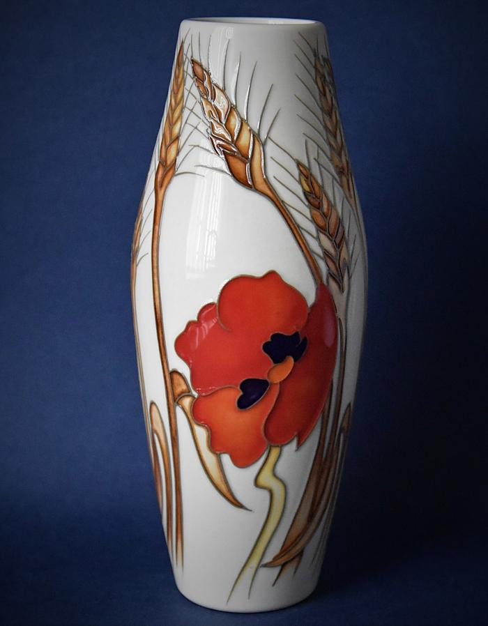 Moorcroft Pottery 06/8 Harvest Poppy Emma Bossons An Open Edition