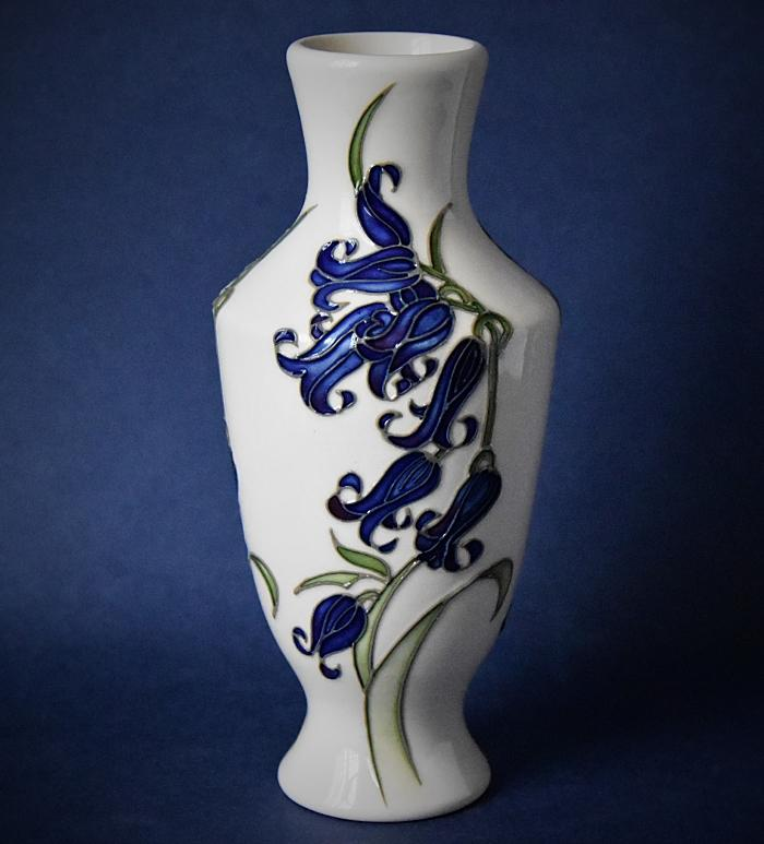 Moorcroft Pottery 08/6 Bluebell Harmony Kerry Goodwin An Open Edition