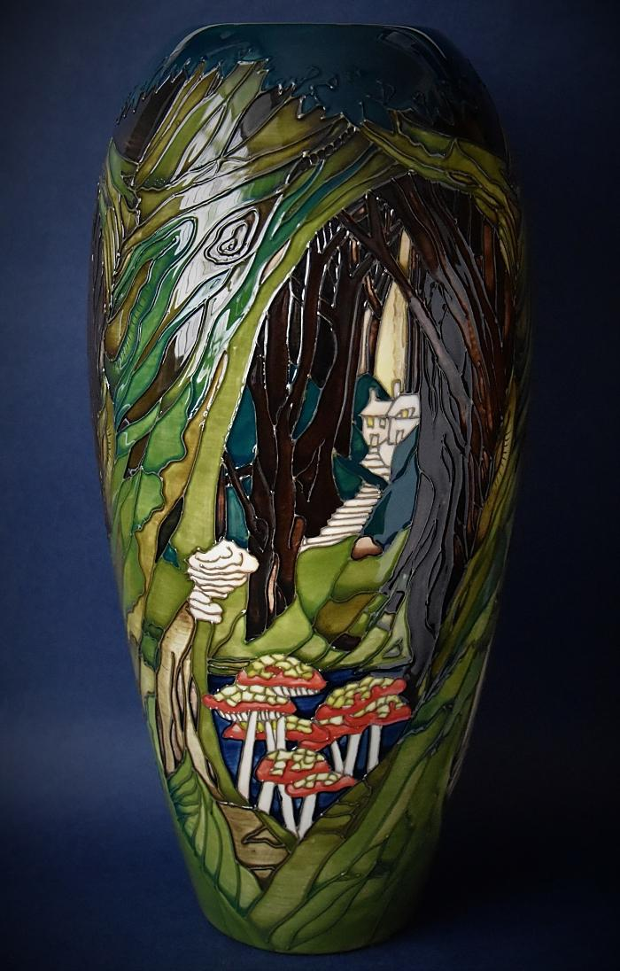 Moorcroft Pottery 101/14 Ancient Woodland Paul Hilditch A Limited Edition of 20
