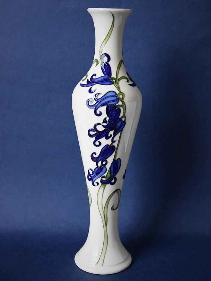 Moorcroft Pottery 138/12  Bluebell Harmony Kerry Goodwin An Open Edition