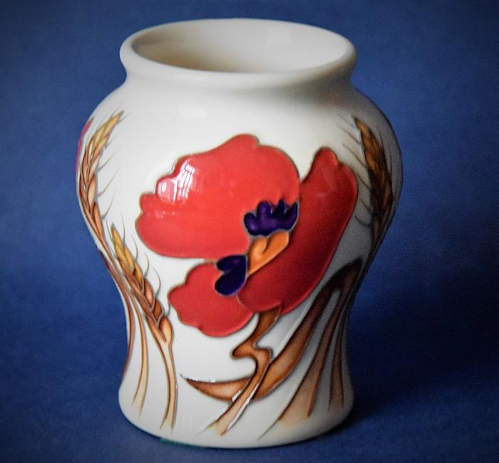 Moorcroft Pottery 146/3 Harvest Poppy Emma Bossons An Open Edition