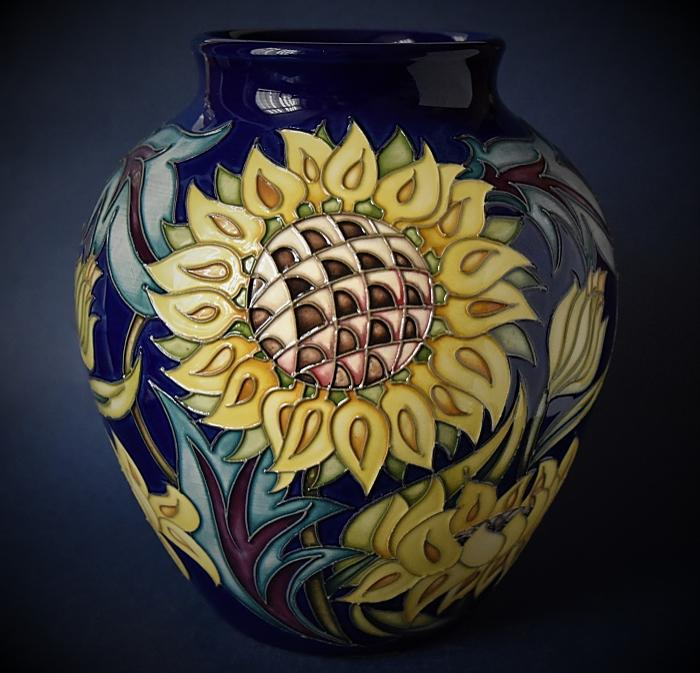Moorcroft Pottery 189/8 Helios Flame Emma Bossons A Limited Edition of 40