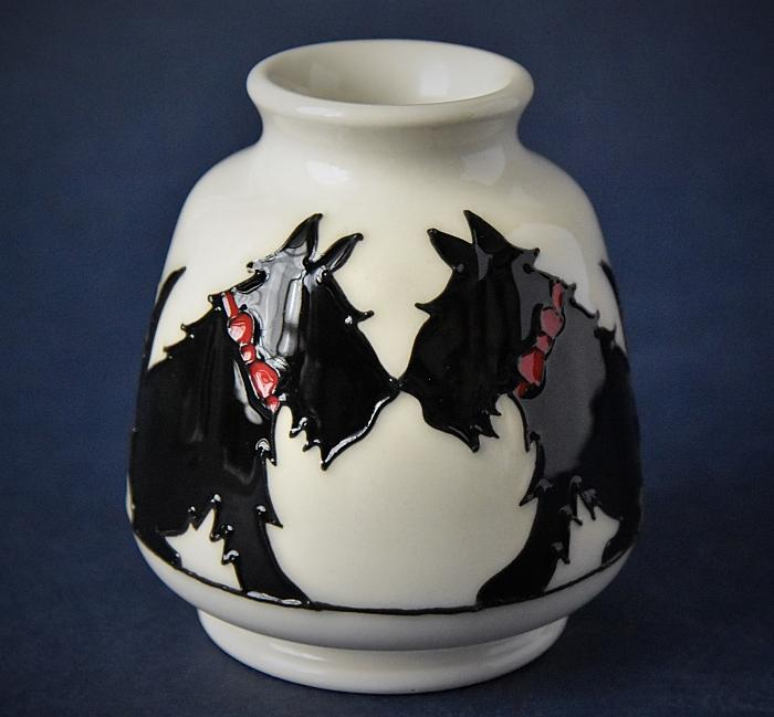 Moorcroft Pottery 198/3 Canine Companions Nicola Slaney An Open Edition Order by Telephone 01789 269405