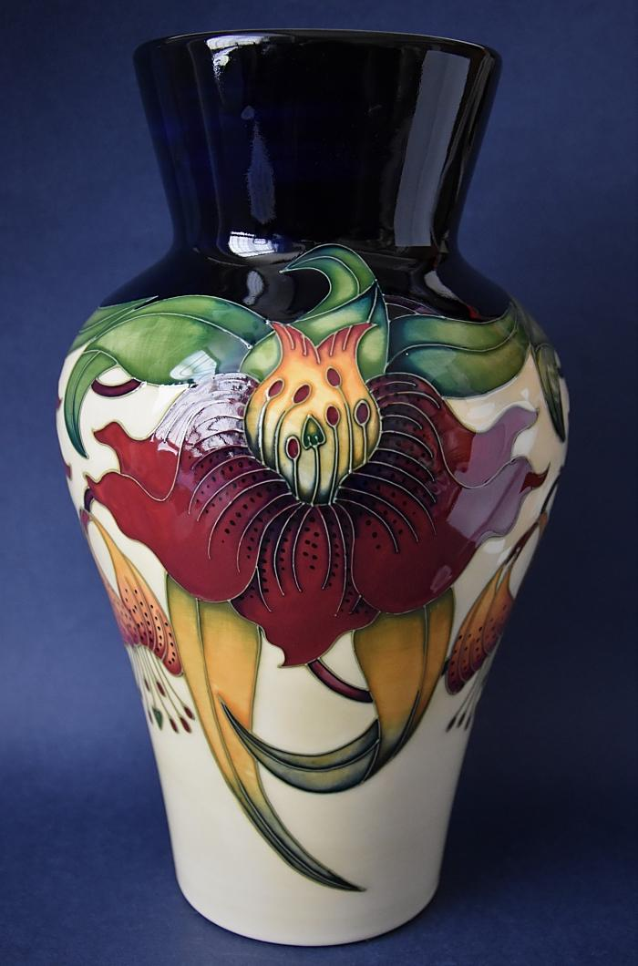 Moorcroft Pottery 23/11 Anna Lily Nicola Slaney Open Edition