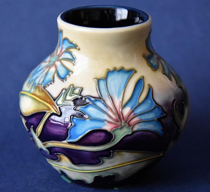 Moorcroft Pottery Herb Collection Chicory 35/3 Philip Gibson  Open Edition