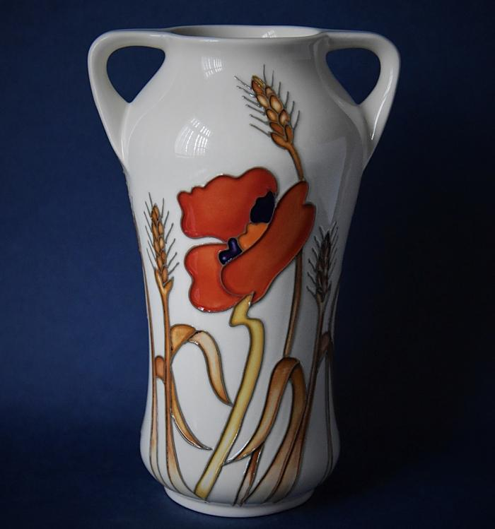 Moorcroft Pottery 375/7 Harvest Poppy Emma Bossons An Open Edition