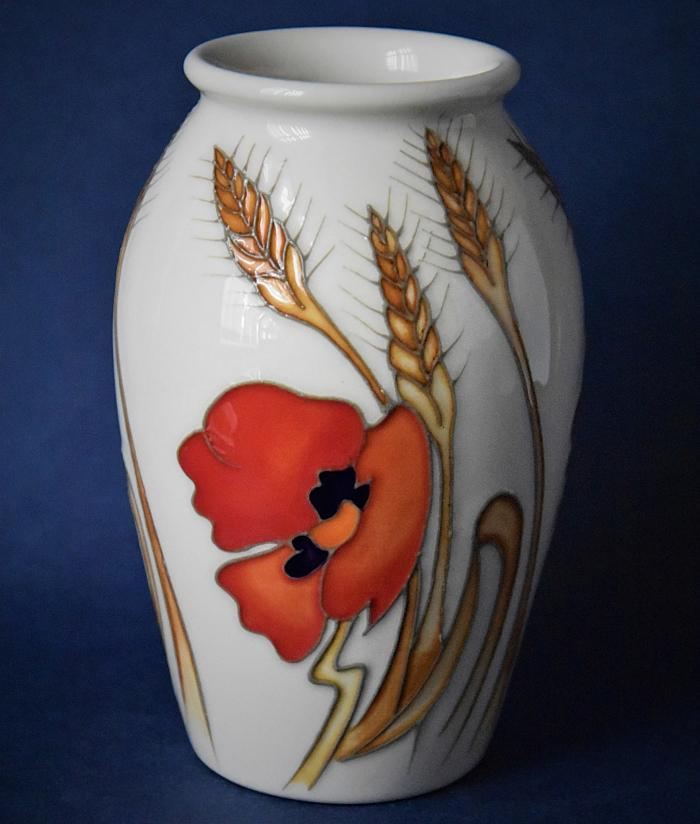 Moorcroft Pottery 393/5 Harvest Poppy Emma Bossons An Open Edition