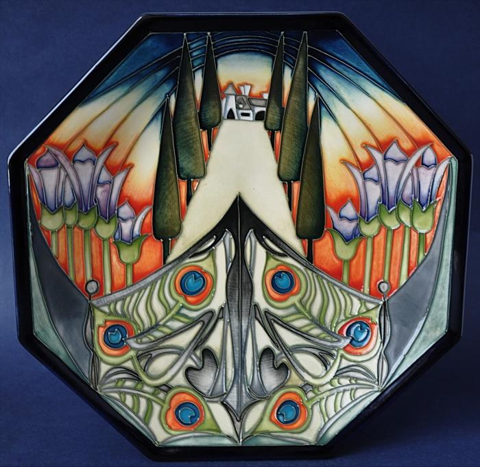 Moorcroft Pottery 51/10 Eventide House The Gate Kerry Goodwin Limited Edition of 150