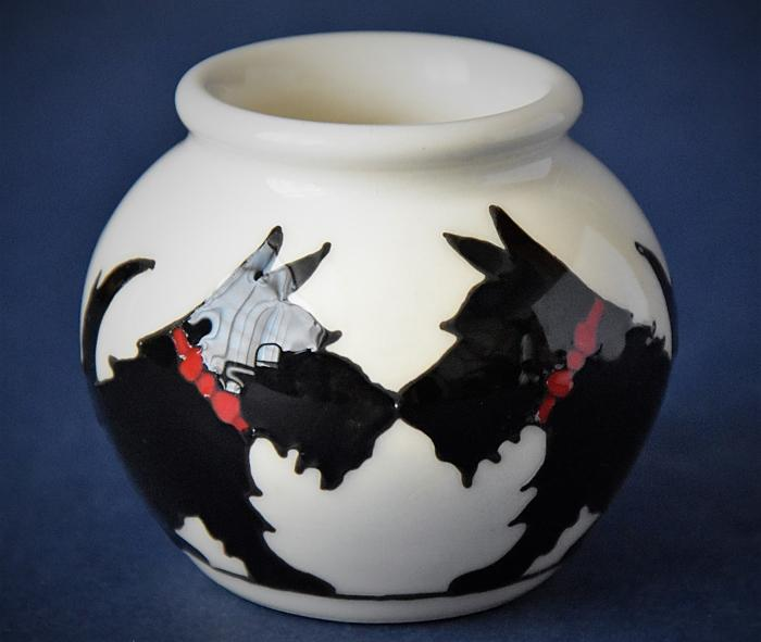 Moorcroft Pottery Canine Companions 55/2 Nicola Slaney An Open Edition
