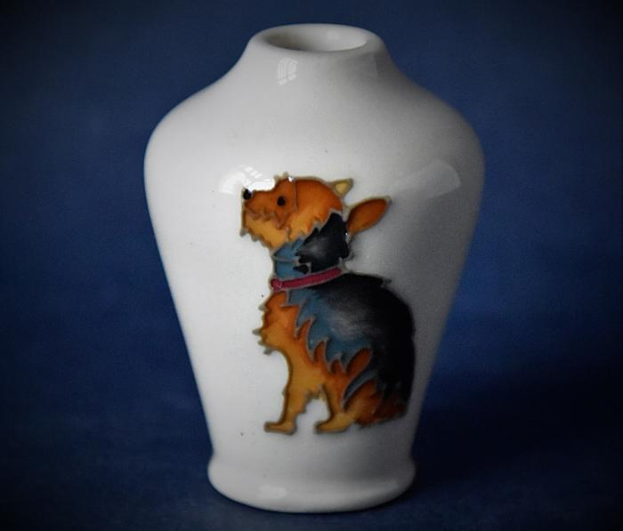Moorcroft Pottery 576/2 Yorkshire Terrier Kerry Goodwin An Open Edition