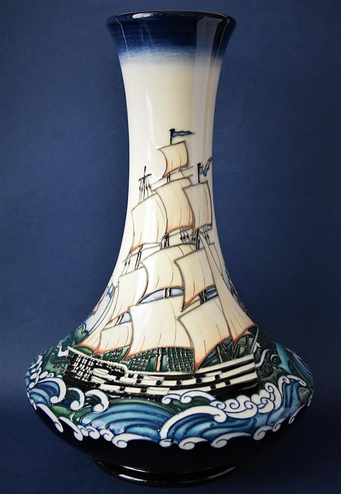 Moorcroft Pottery 62/11 Launching Liberty Paul Hilditch Numbered Edition