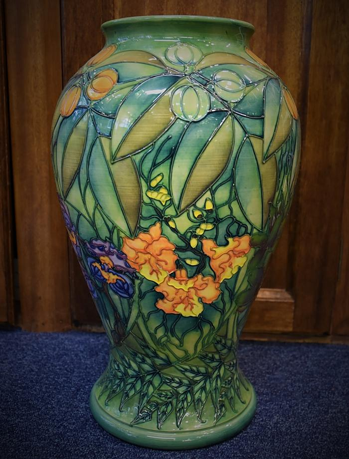 Moorcroft Pottery Rainforest 65/16 Sally Tuffin  A Limited Edition of 150