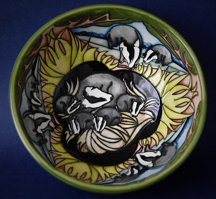 Moorcroft Pottery 711/6 The Clan Bowl Vicky Lovatt A Limited Edition of 50