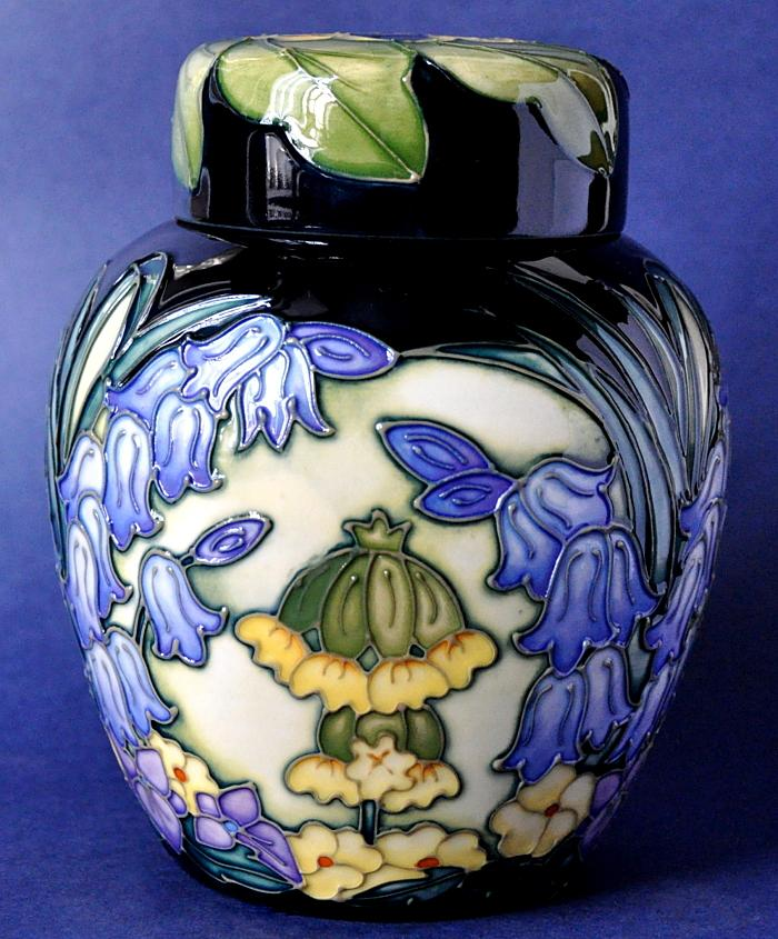 Moorcroft Pottery Cymbeline 769/6 Rachel Bishop Limited Edition of 250