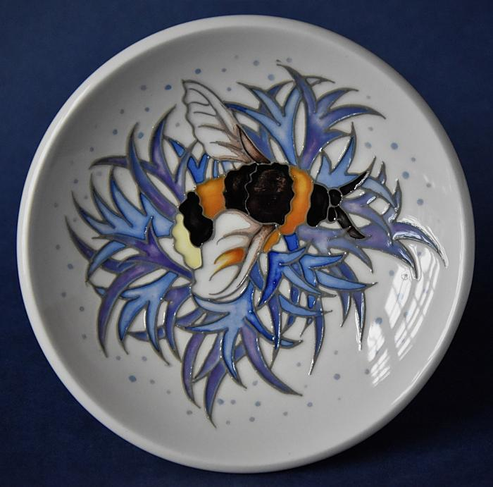 Moorcroft Pottery 780/4 Broken Belted Bee Rachel Bishop A Limited Edition of 30