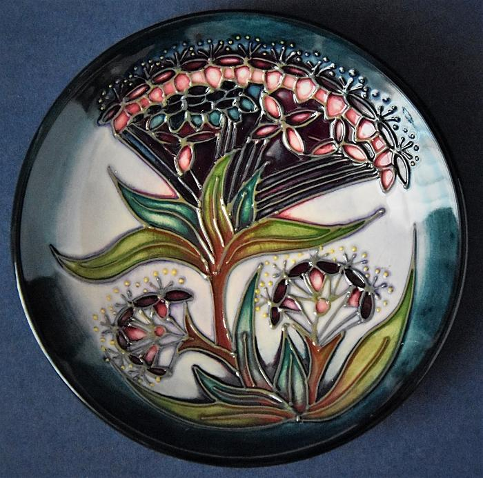 Moorcroft Pottery 780/4 Gypsy Rachel Bishop Open Edition
