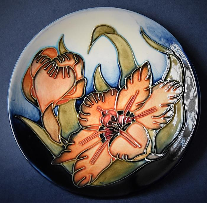 Moorcroft Pottery Spiraxia 780/6 Sally Tuffin Numbered Edition