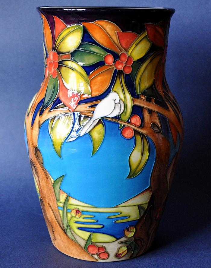 Moorcroft Pottery Aquitaine 805/9 Emma Bossons  Limited Edition of 250