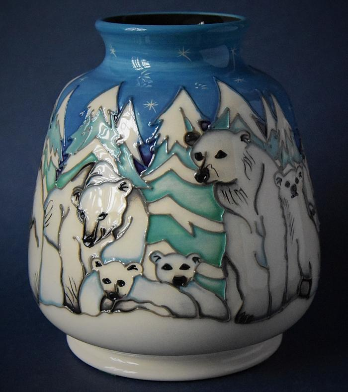 Moorcroft Pottery Arctic Adventurers 198/5 Helen Dale Numbered Edition