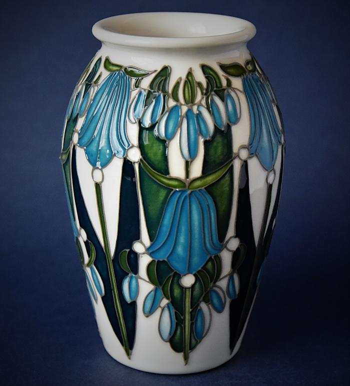 Moorcroft Pottery Bluebell Collection 393/5 Dingle Dell Emma Bossons A Limited Edition of 40
