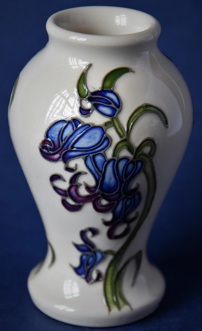 Moorcroft Pottery Bluebell Harmony 46/4 Kerry Goodwin Open Edition
