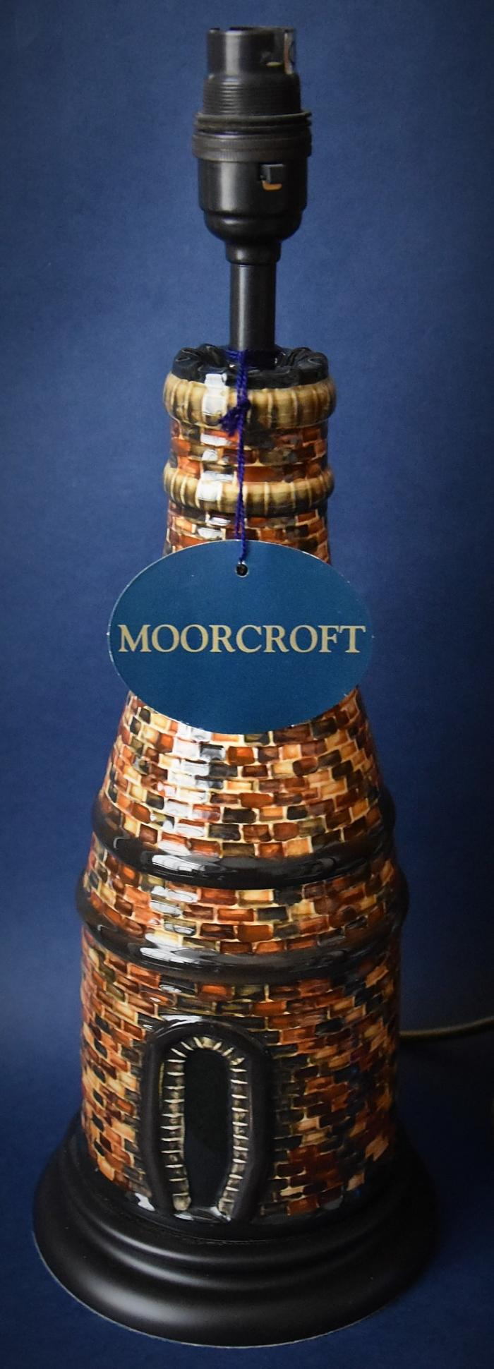 Moorcroft Pottery Bottle Oven Lamp Rob Tabbenor An Open Edition